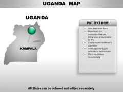 Uganda Country PowerPoint Maps