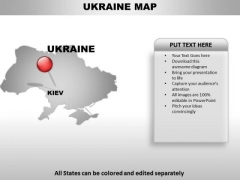 Ukraine powerpoint maps powerpoint templates slides and graphics ukraine country powerpoint maps toneelgroepblik Images