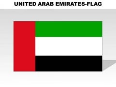 United Arab Emirates Country PowerPoint Flags