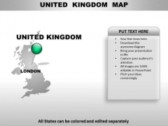 United Kingdom Country PowerPoint Maps