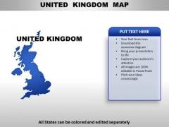 United Kingdom PowerPoint Maps
