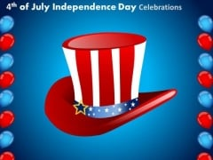 United States America Independence Day July 4th PowerPoint Presentation Slides