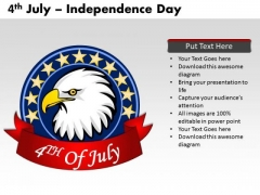 United States Independence Day 4th July PowerPoint Templates