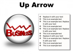 Up Arrow Business PowerPoint Presentation Slides C