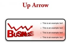 Up Arrow Business PowerPoint Presentation Slides R
