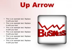 Up Arrow Business PowerPoint Presentation Slides S