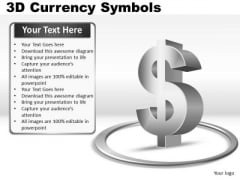 Us Dollar Currency Symbol PowerPoint Slides And Ppt Diagram Templates