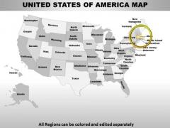Usa Massachusetts State PowerPoint Maps
