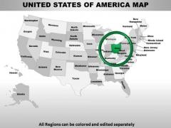 Usa Ohio State PowerPoint Maps