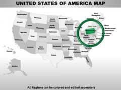 Usa Pennsylvania State PowerPoint Maps