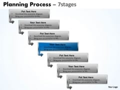 Usa Ppt Background Downward Process Of 7 Stages Communication Skills PowerPoint 5 Image