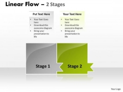 Usa Ppt Background Linear Model Of 2 Power Point Stages Business Plan PowerPoint 3 Design