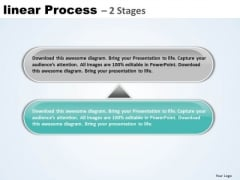 Usa Ppt Background Linear Process 2 Phase Diagram Business Plan PowerPoint Graphic