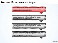 Usa Ppt Background Logical Model Using 4 Rectangular Arrows 2 Graphic
