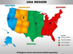 us map ppt template