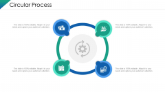 VCA And Competitive Edge Circular Process Ppt Ideas Introduction PDF