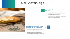VCA And Competitive Edge Cost Advantage Ppt Outline Smartart PDF
