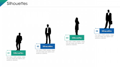 VCA And Competitive Edge Silhouettes Ppt File Images PDF