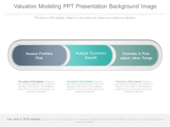 Valuation Modeling Ppt Presentation Background Image