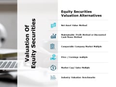 Valuation Of Equity Securities Ppt PowerPoint Presentation Outline Professional