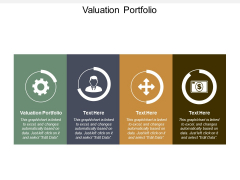 Valuation Portfolio Ppt Powerpoint Presentation Images Cpb