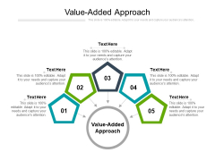Value Added Approach Ppt PowerPoint Presentation Pictures Objects Cpb