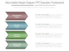 Value Added Margin Diagram Ppt Examples Professional