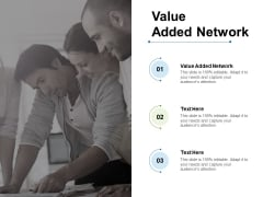 Value Added Network Ppt PowerPoint Presentation Ideas Slides Cpb