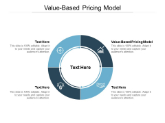 Value Based Pricing Model Ppt PowerPoint Presentation Ideas Portrait