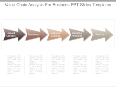 Value Chain Analysis For Business Ppt Slides Templates