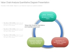 Value Chain Analysis Quantitative Diagram Presentation
