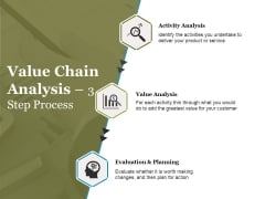 Value Chain Analysis Step Process Ppt PowerPoint Presentation Portfolio Professional