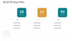 Value Chain Techniques For Performance Assessment 30 60 90 Days Plan Portrait PDF
