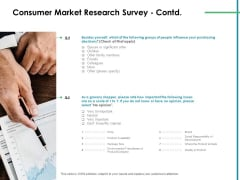 Value Creation Initiatives Consumer Market Research Survey Product Mockup PDF