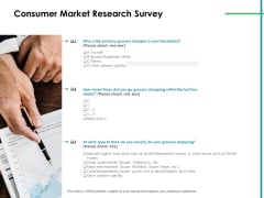 Value Creation Initiatives Consumer Market Research Survey Structure PDF