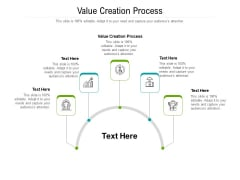 Value Creation Process Ppt PowerPoint Presentation Ideas Graphics Tutorials Cpb