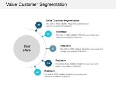 Value Customer Segmentation Ppt PowerPoint Presentation Infographics Tips Cpb