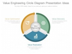 Value Engineering Circle Diagram Presentation Ideas