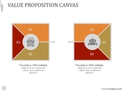 Value Proposition Canvas Ppt PowerPoint Presentation Layout
