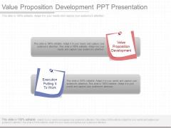 Value Proposition Development Ppt Presentation