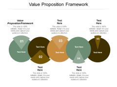 Value Proposition Framework Ppt Powerpoint Presentation Portfolio Diagrams Cpb