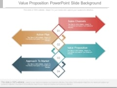 Value Proposition Powerpoint Slide Background