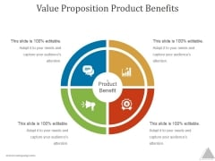 Value Proposition Product Benefits Ppt PowerPoint Presentation Influencers
