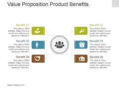 Value Proposition Product Benefits Template 1 Ppt PowerPoint Presentation Design Templates