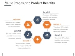 Value Proposition Product Benefits Template 2 Ppt PowerPoint Presentation Pictures Tips