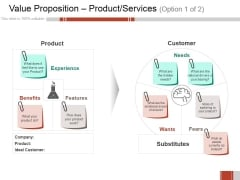 Value Proposition Product Services Ppt PowerPoint Presentation Infographic Template Graphics Download