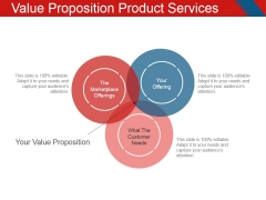Value Proposition Product Services Template 1 Ppt PowerPoint Presentation File Objects