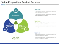 Value Proposition Product Services Template 1 Ppt PowerPoint Presentation Icon Clipart Images