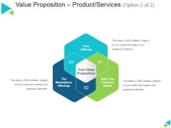 Value Proposition Product Services Template 2 Ppt PowerPoint Presentation Inspiration Example