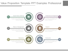 Value Proposition Template Ppt Examples Professional